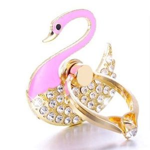 Flamingo Ring Holder and Kickstand for Smartphone